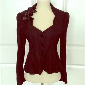 Anthropologie Peplum Blazer Jacket